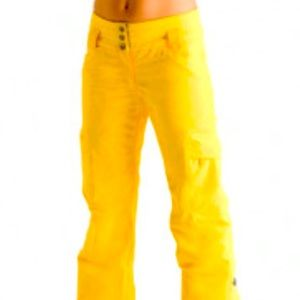 LOLE snow pants yellow XS